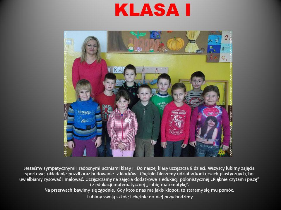 Do oddziału przedszkolnego uczęszcza 16 dzieci, w tym 10 dziewczynek i 6 chłopców. Bardzo miło spędzamy czas bawiąc się z panią, koleżankami i kolegam