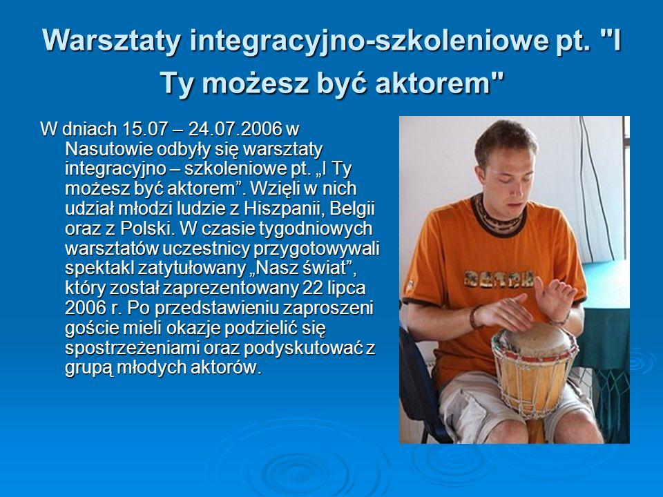 Warsztaty integracyjno-szkoleniowe pt.