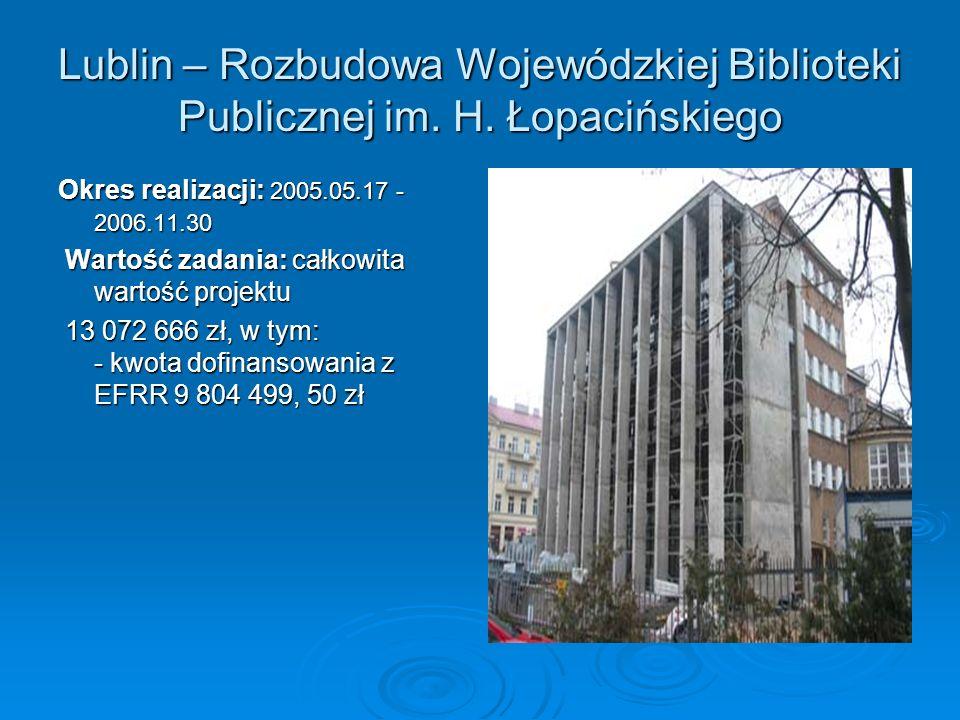 Lublin – Rozbudowa Wojewódzkiej Biblioteki Publicznej im.