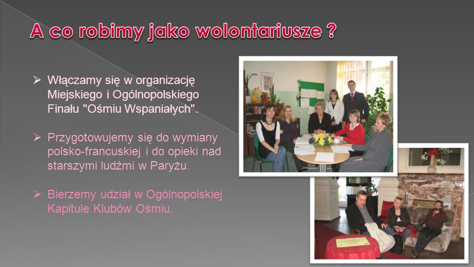 Włączamy się w organizację Miejskiego i Ogólnopolskiego Finału