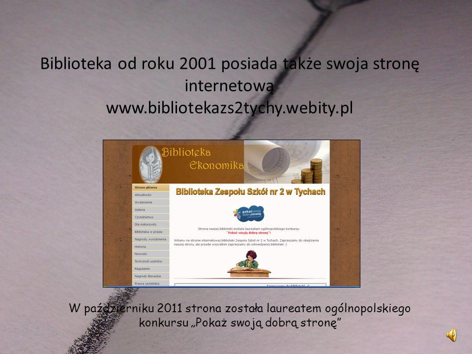 To dzięki kronice młodsi uczniowie wiedzą, że finał V Wojewódzkiego Konkursu Bibliotekarskiego Biblioteka-Kultura-Literatura odbył się w naszej szkole