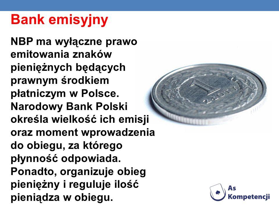 KURSY E-LEARNINGOWE - Emerytalne ABC - Świat finansów - Makroekonomia - Kredyty i ty - Bankowość - Polityka monetarna Banku Centralnego