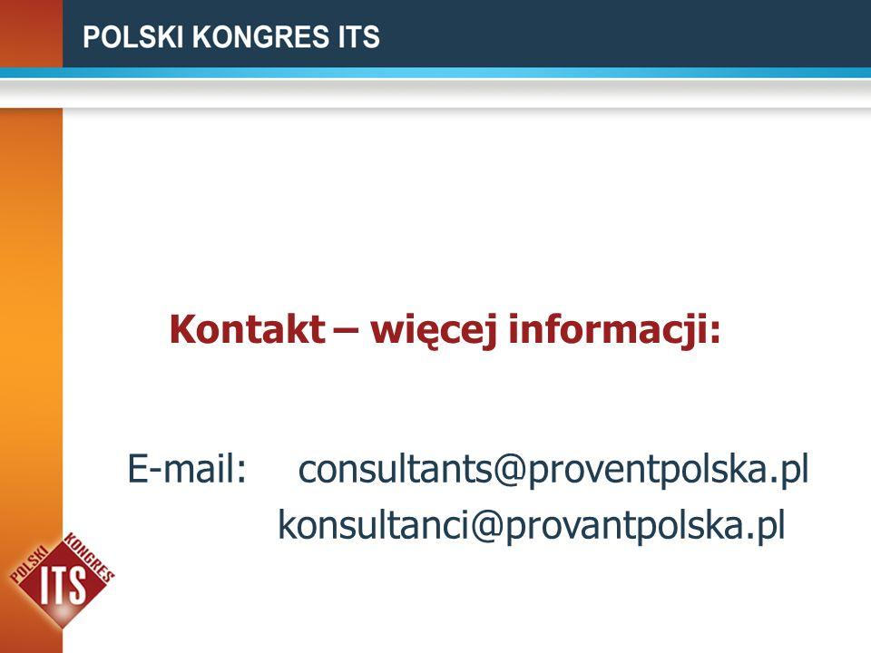 Kontakt – więcej informacji: E-mail:consultants@proventpolska.pl konsultanci@provantpolska.pl