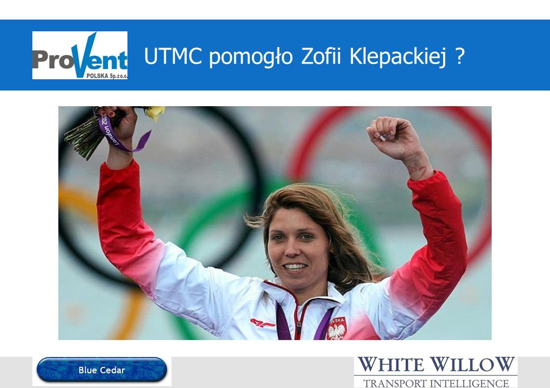 UTMC pomogło Zofii Klepackiej ?