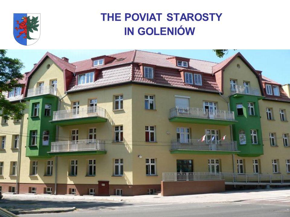 POWIAT GOLENIOWSKI The Goleniowski Poviat is situated in the northern part of zachodniopomorskie province.