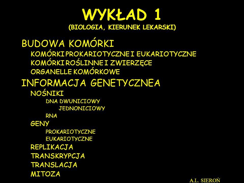 ZWIERZĘTA ROŚLINY A.L. SIEROŃ http://biolmolgen.slam.katowice.pl/