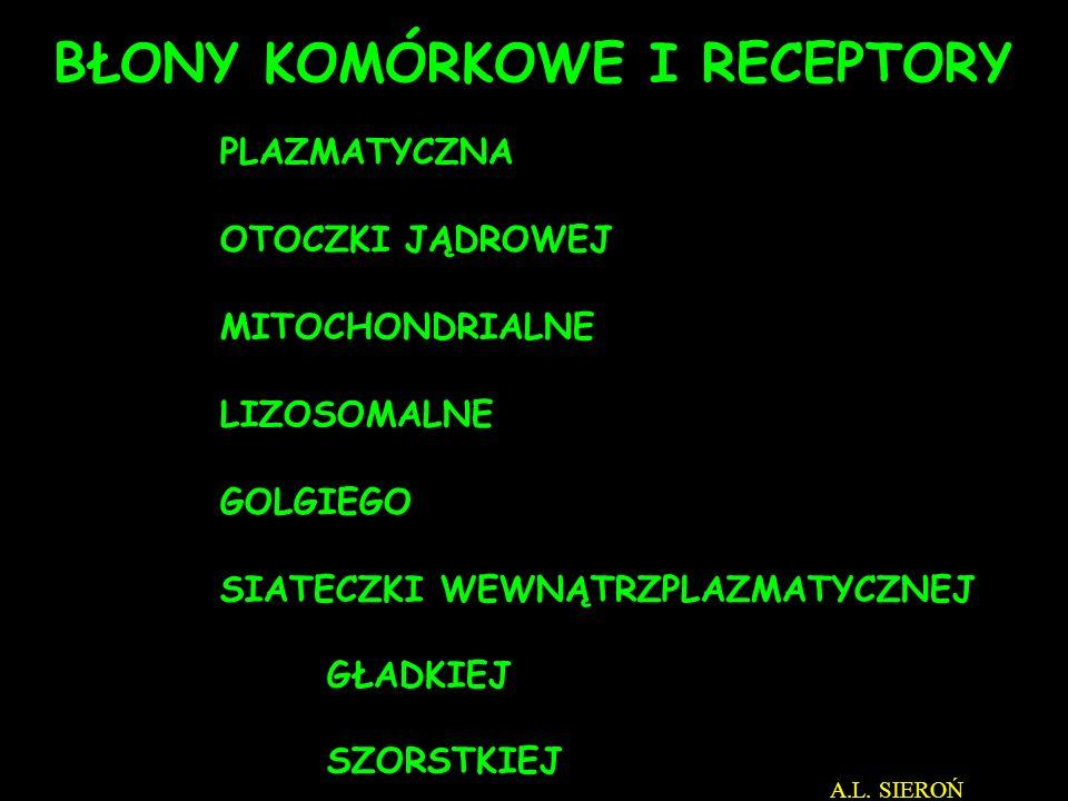 SPOCZYNEK SKURCZ Aktyna Miozyna Aktyna Miozyna A.L. SIEROŃ http://biolmolgen.slam.katowice.pl/