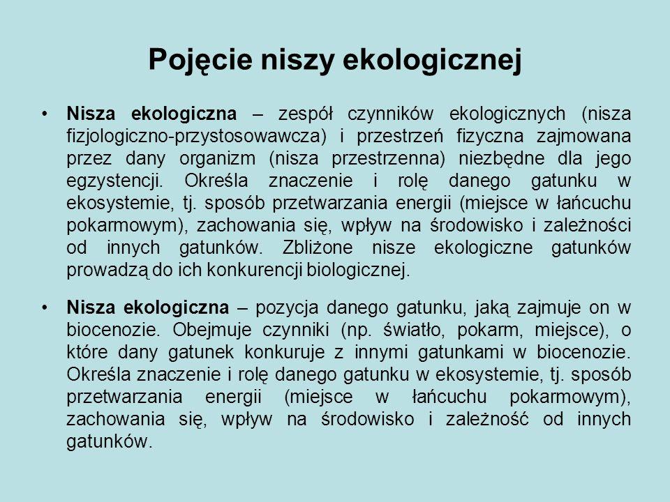 Literatura: Kalinowska A., Ekologia – wybór na Nowe Stulecie.