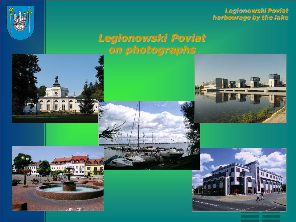 Legionowski Poviat on photographs Legionowski Poviat harbourage by the lake