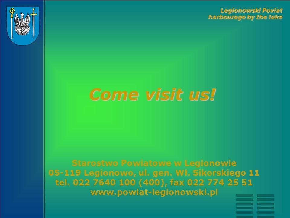 Starostwo Powiatowe w Legionowie 05-119 Legionowo, ul. gen. Wł. Sikorskiego 11 tel. 022 7640 100 (400), fax 022 774 25 51 www.powiat-legionowski.pl Co