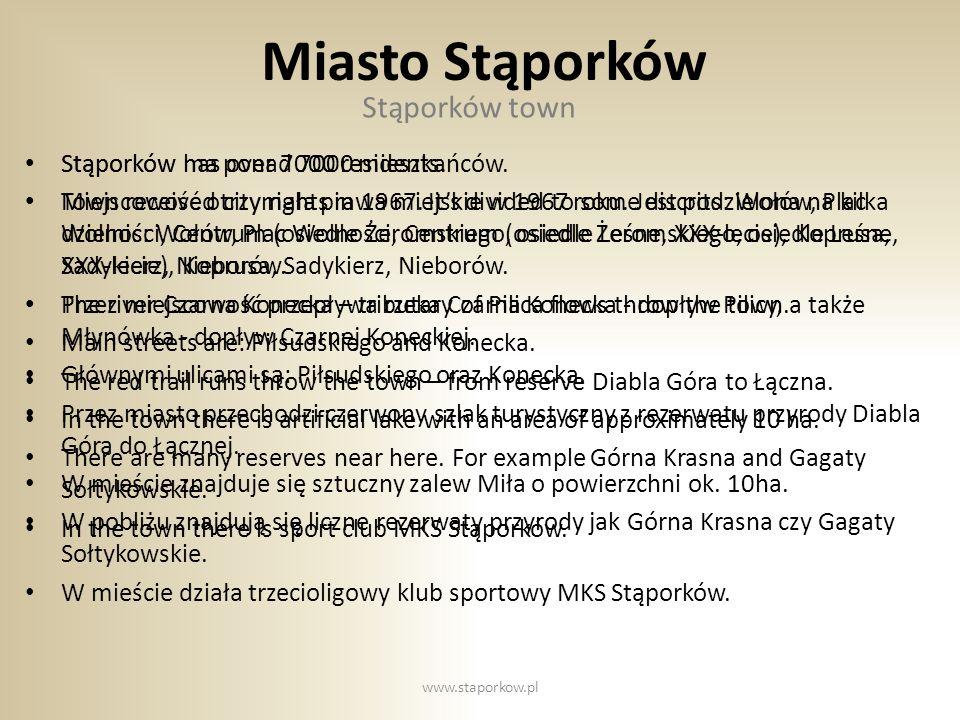 GMINA STĄPORKÓW DAWNIEJ… www.staporkow.pl