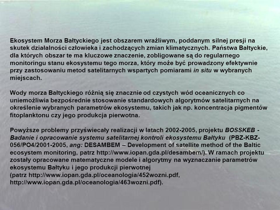 Ekosystem Morza Bałtyckiego jest obszarem wrażliwym, poddanym silnej presji na skutek działalności człowieka i zachodzących zmian klimatycznych.
