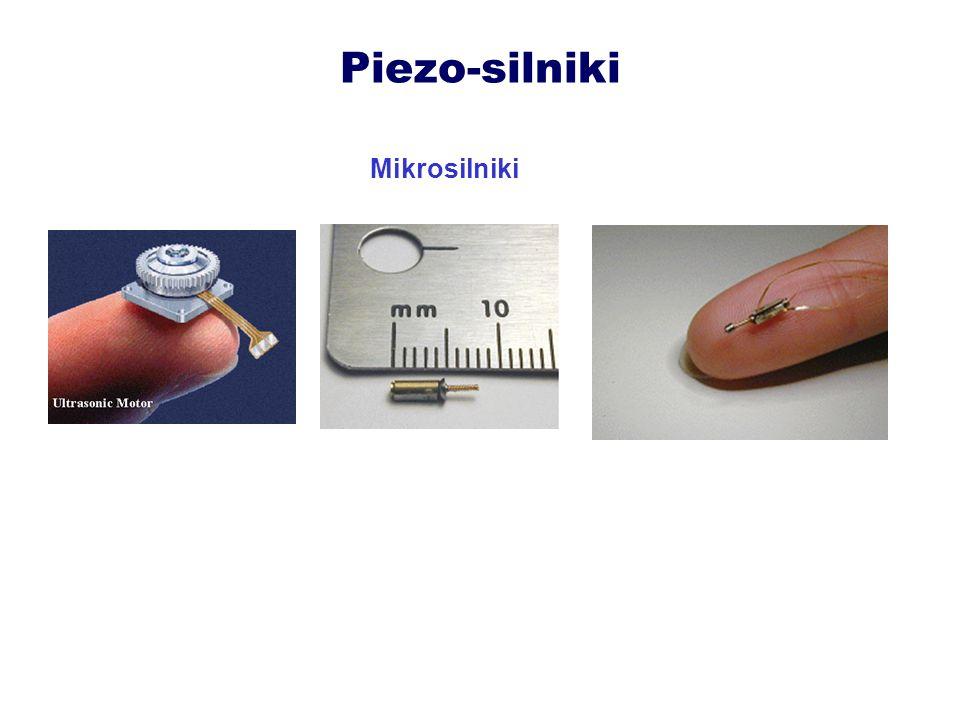 Zastosowania piezo-silników Alarm wibracyjny w zegarku firmy Seiko