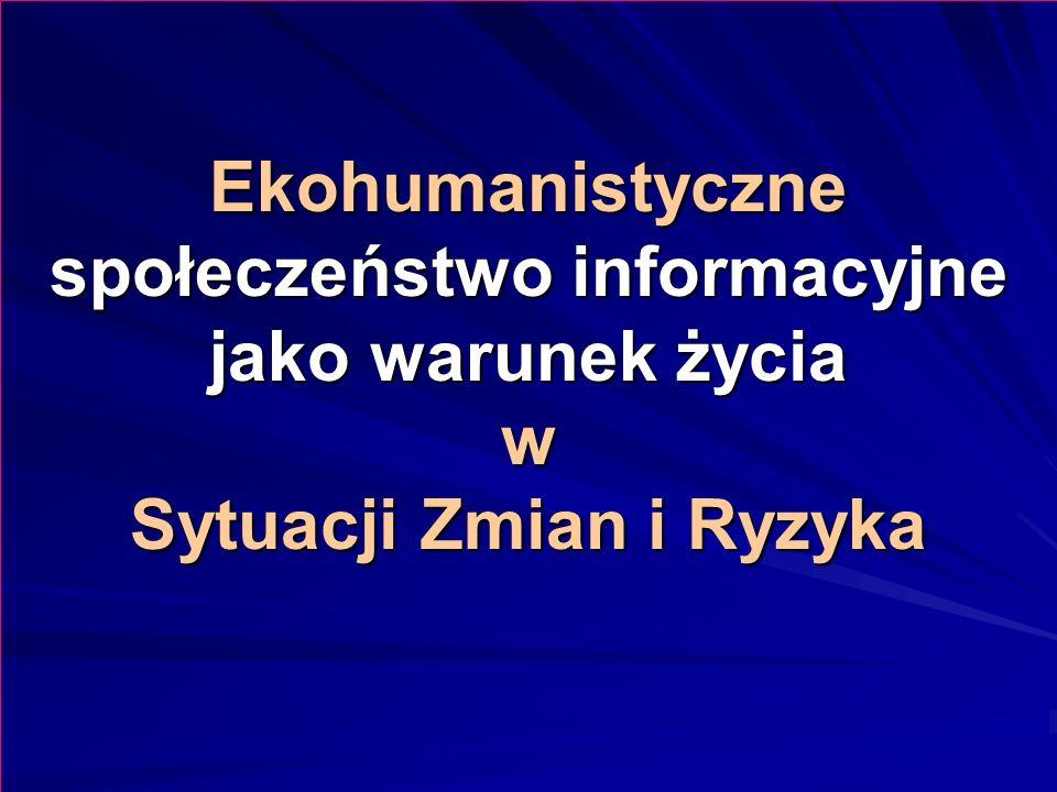 Proponowany światowy system informacyjny jest niezbędny m.in.