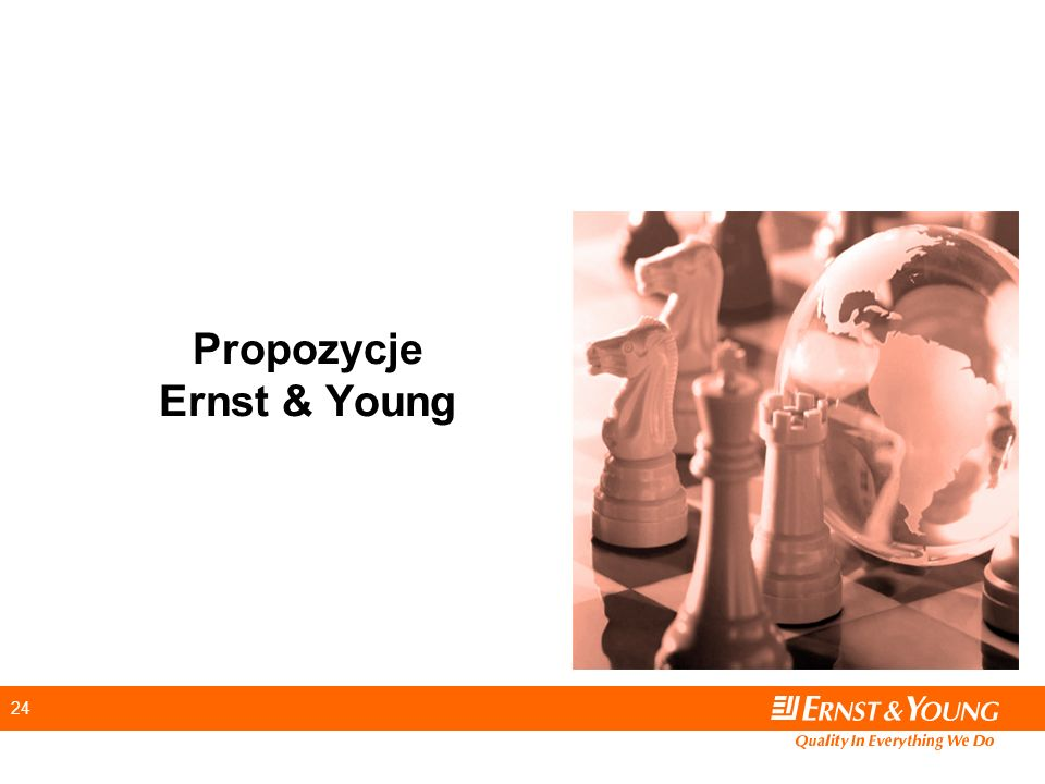 24 Propozycje Ernst & Young