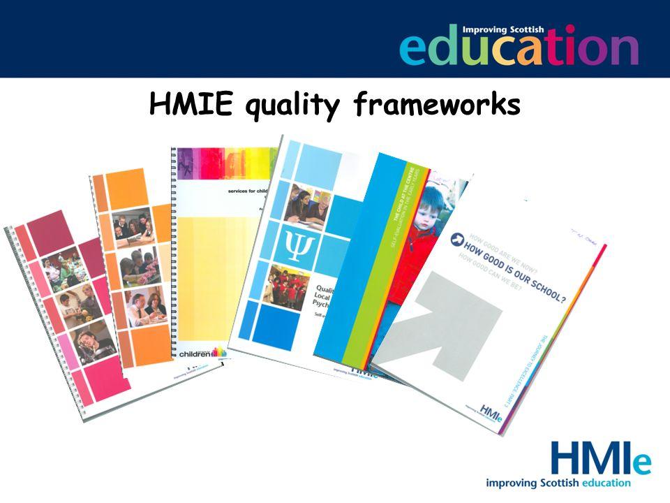 HMIE quality frameworks