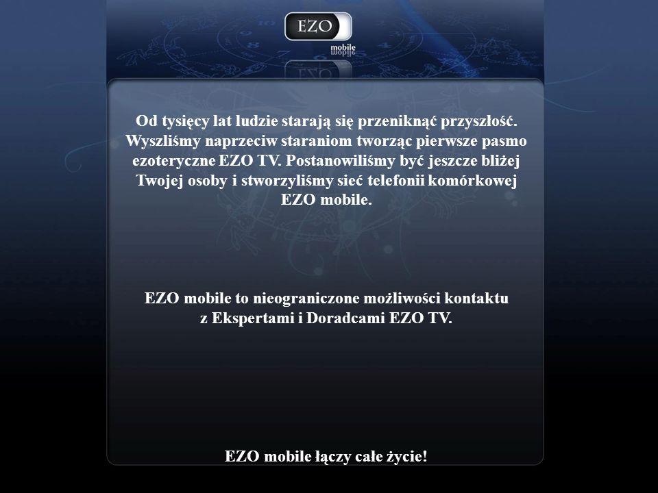 Kartę EZO mobile można zamówić telefonicznie lub SMS owo.