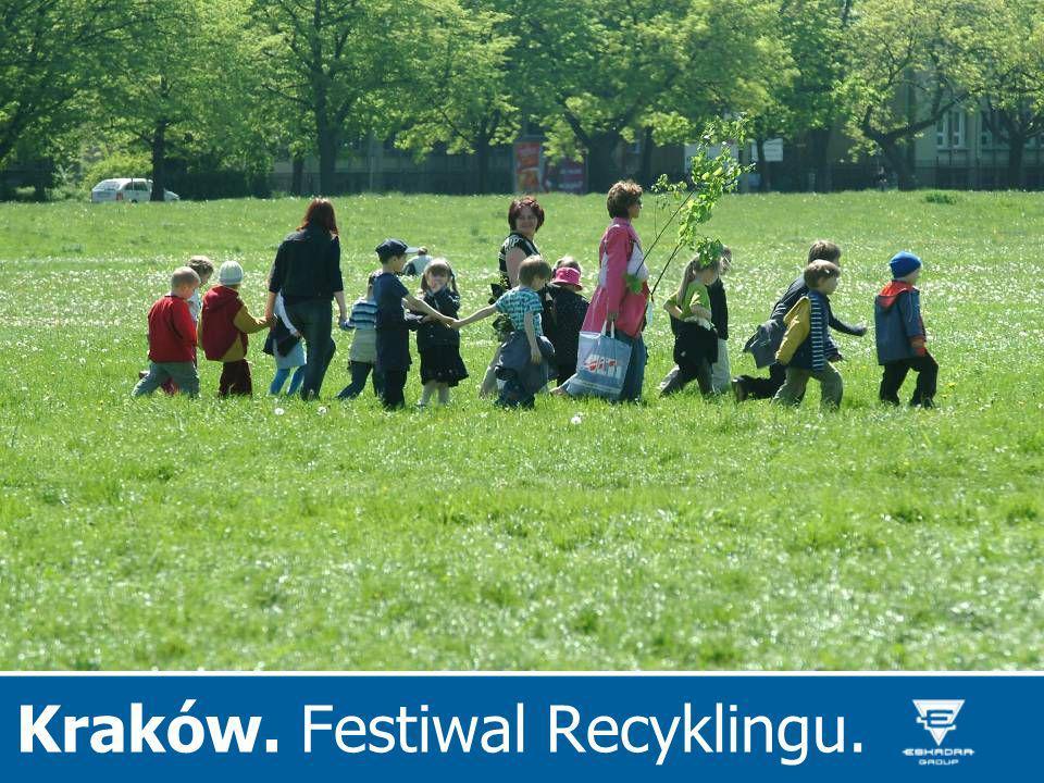 Kraków. Festiwal Recyklingu.