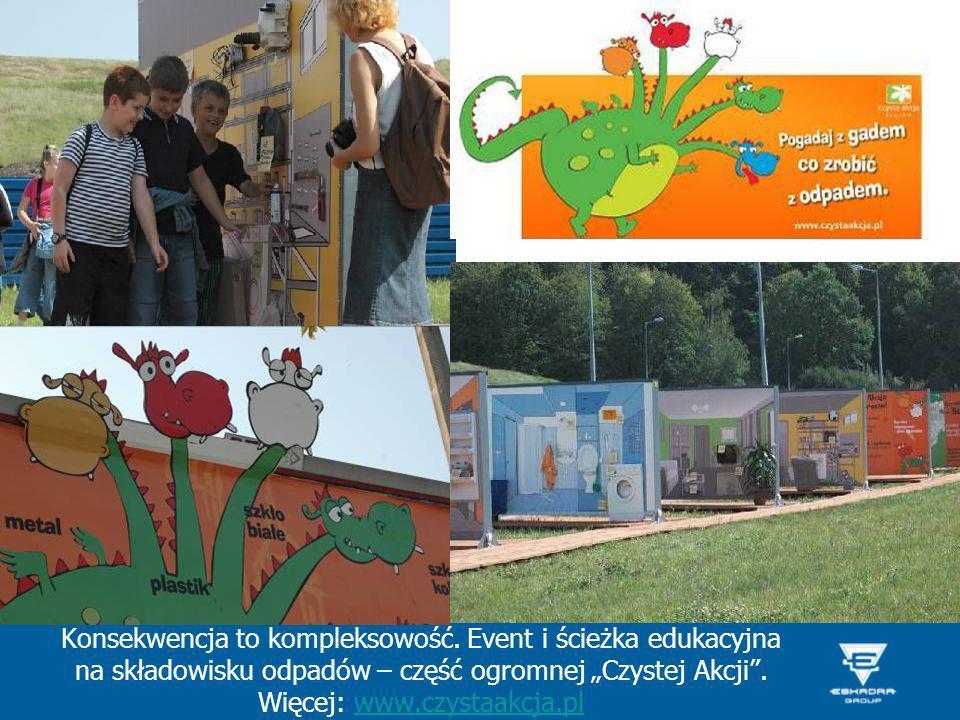 Konsekwencja to kompleksowość. Event i ścieżka edukacyjna na składowisku odpadów – część ogromnej Czystej Akcji. Więcej: www.czystaakcja.plwww.czystaa