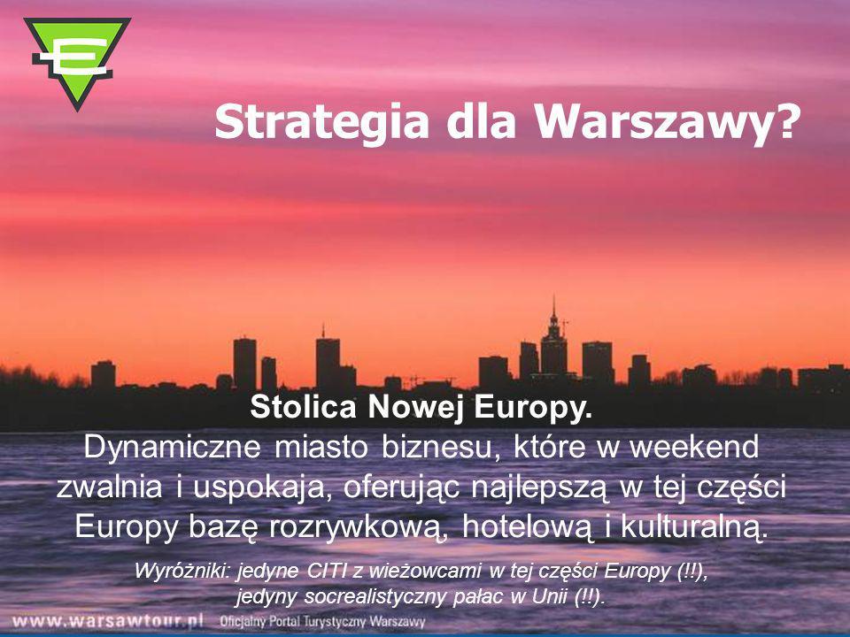 Strategia dla Warszawy.Stolica Nowej Europy.