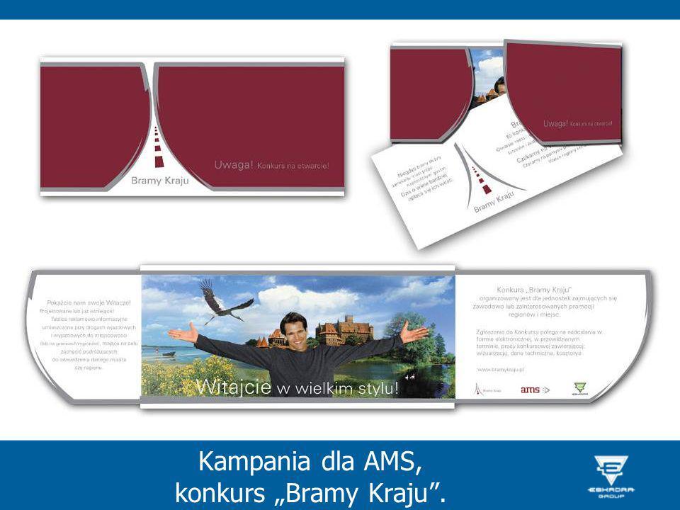 Kampania dla AMS, konkurs Bramy Kraju.