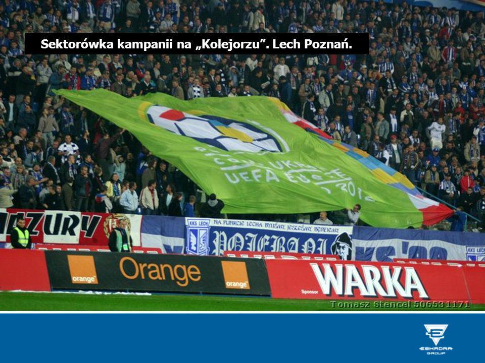 Sektorówka kampanii na Kolejorzu. Lech Poznań.