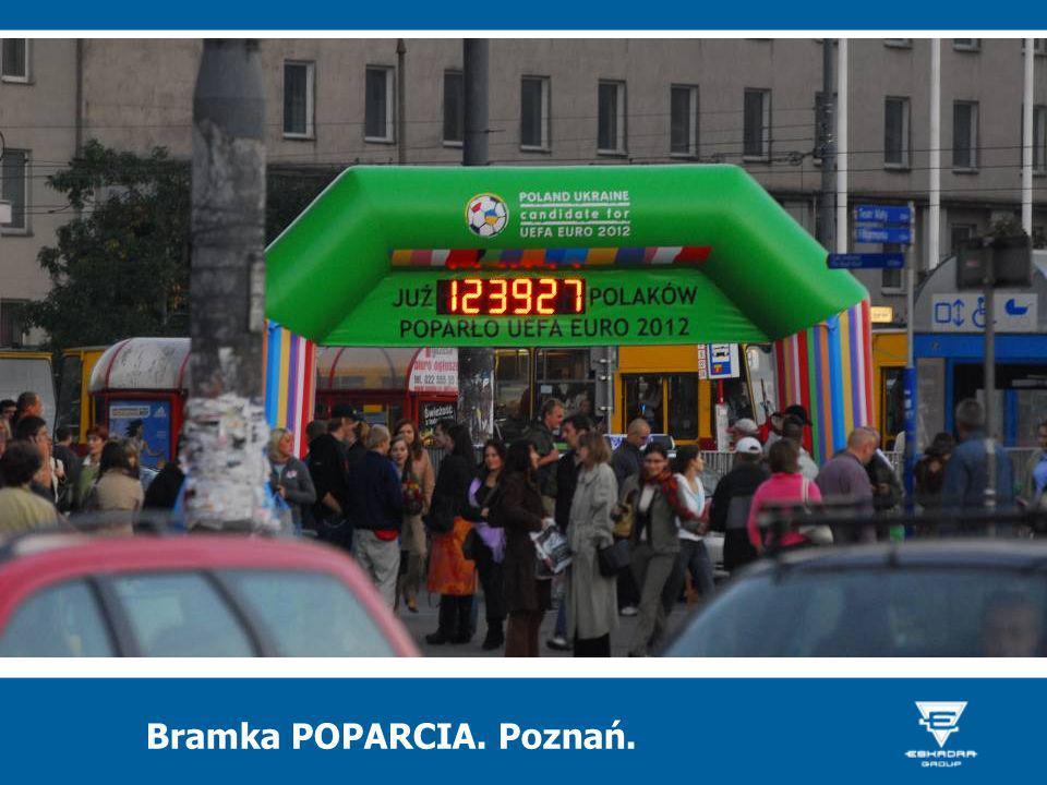 Bramka POPARCIA. Poznań.