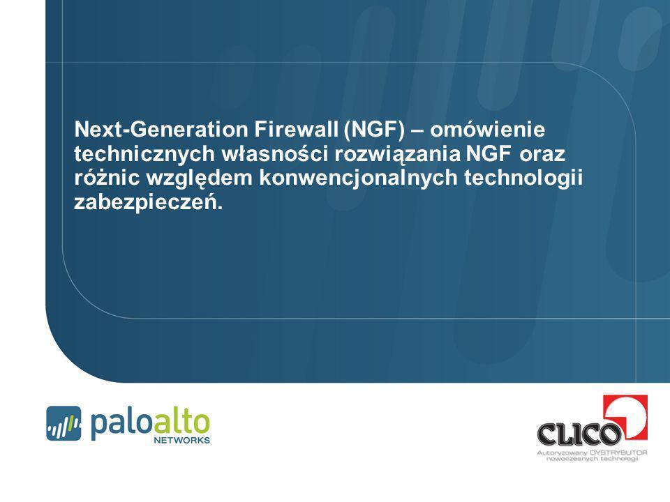 Next-Generation Firewall (NGF) – omówienie technicznych własności rozwiązania NGF oraz różnic względem konwencjonalnych technologii zabezpieczeń.