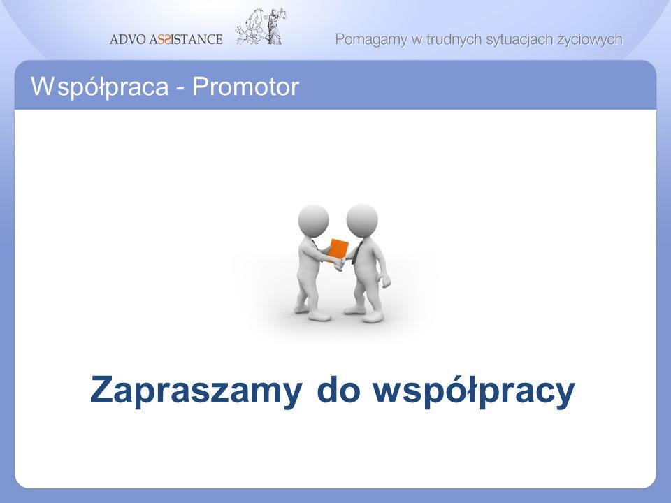 Współpraca - Promotor Zapraszamy do współpracy