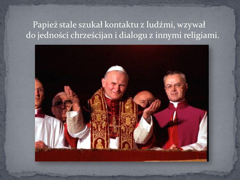 Jan Paweł II odbył 104 pielgrzymki duszpasterskie, odwiedzając wszystkie zamieszkiwane kontynenty.