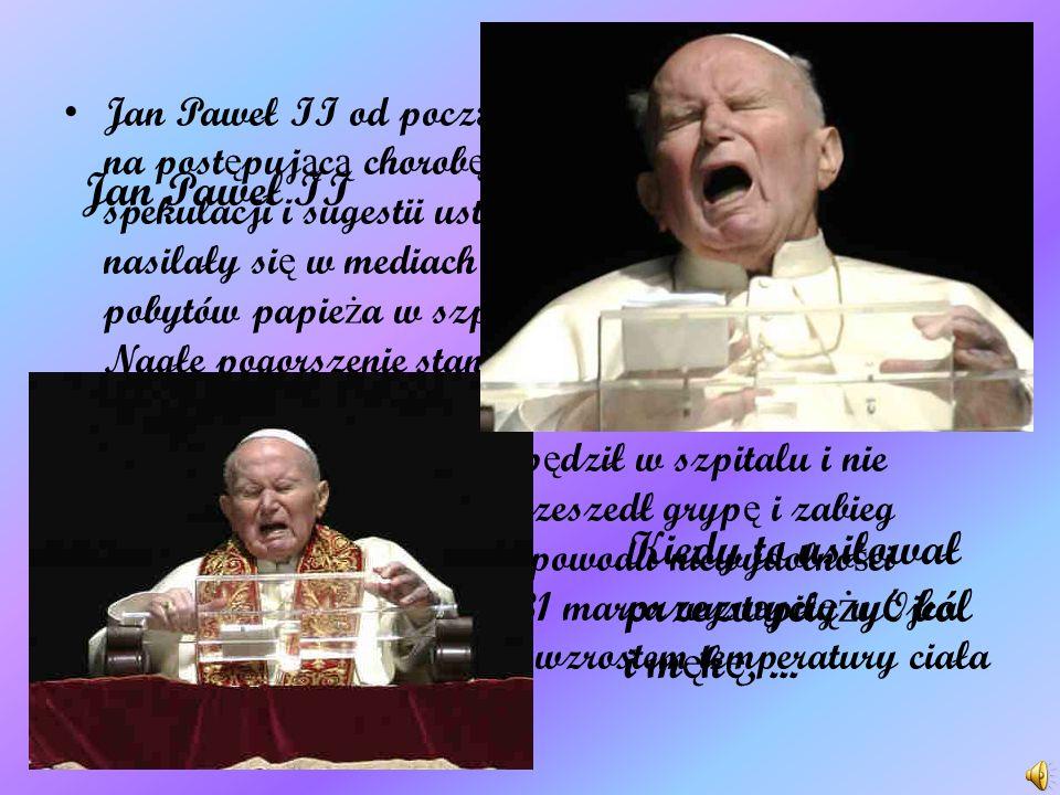 Jan Paweł II był pierwszym papie ż em z Polski, jak równie ż pierwszym, po 455 latach biskupem Rzymu, nie b ę d ą cym Włochem. Wybór na głow ę Ko ś ci