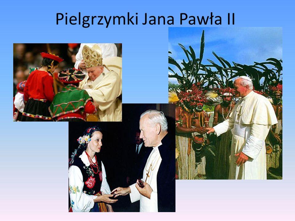 Jako papież wiele podróżował. Odbył 104 podróże, był na wszystkich zamieszkanych kontynentach.