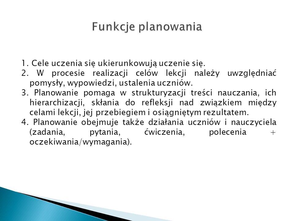 Podstawa programowa do języka polskiego I Struktura: 1.