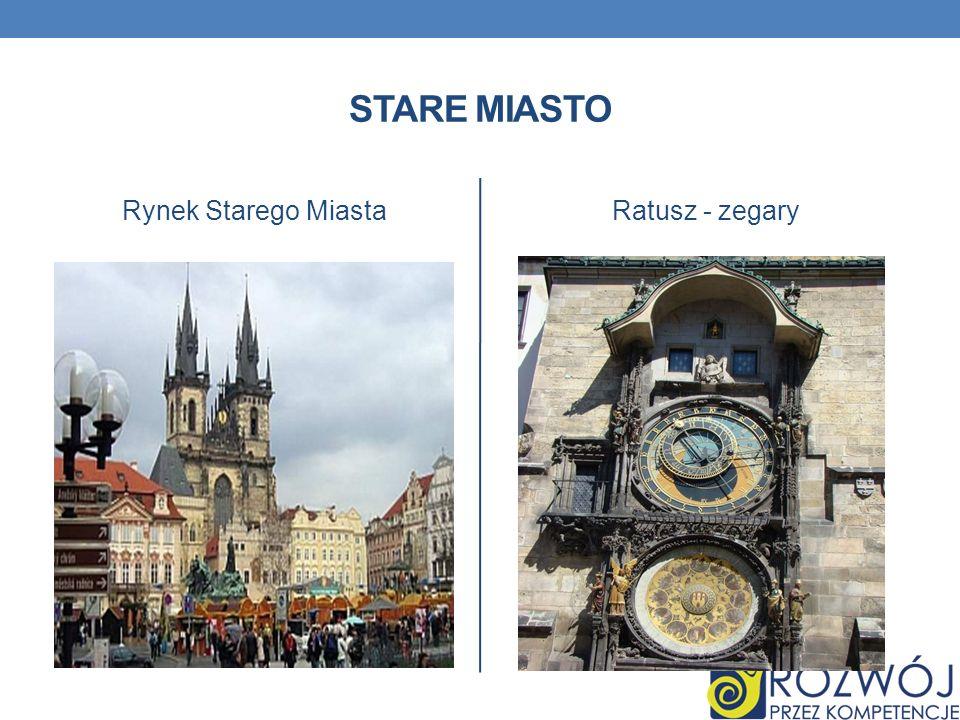 STARE MIASTO Rynek Starego MiastaRatusz - zegary