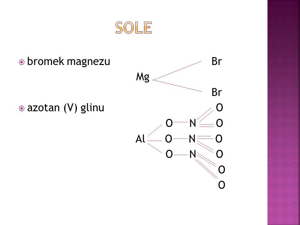 wodorotlenek sodu wodorotlenek magnezu wodorotlenek żelaza (III)