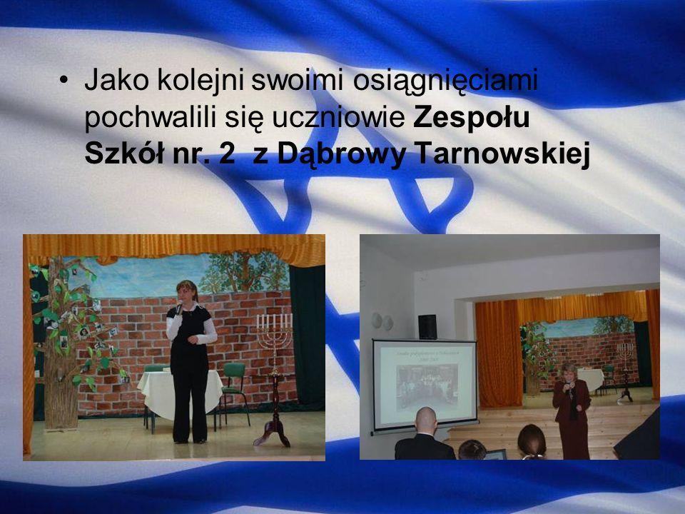 Jako kolejni swoimi osiągnięciami pochwalili się uczniowie Zespołu Szkół nr. 2 z Dąbrowy Tarnowskiej