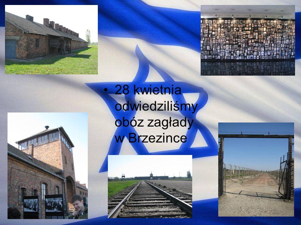 28 kwietnia odwiedziliśmy obóz zagłady w Brzezince