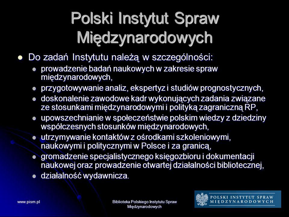 www.pism.pl Dziękujemy za uwagę www.pism.pl