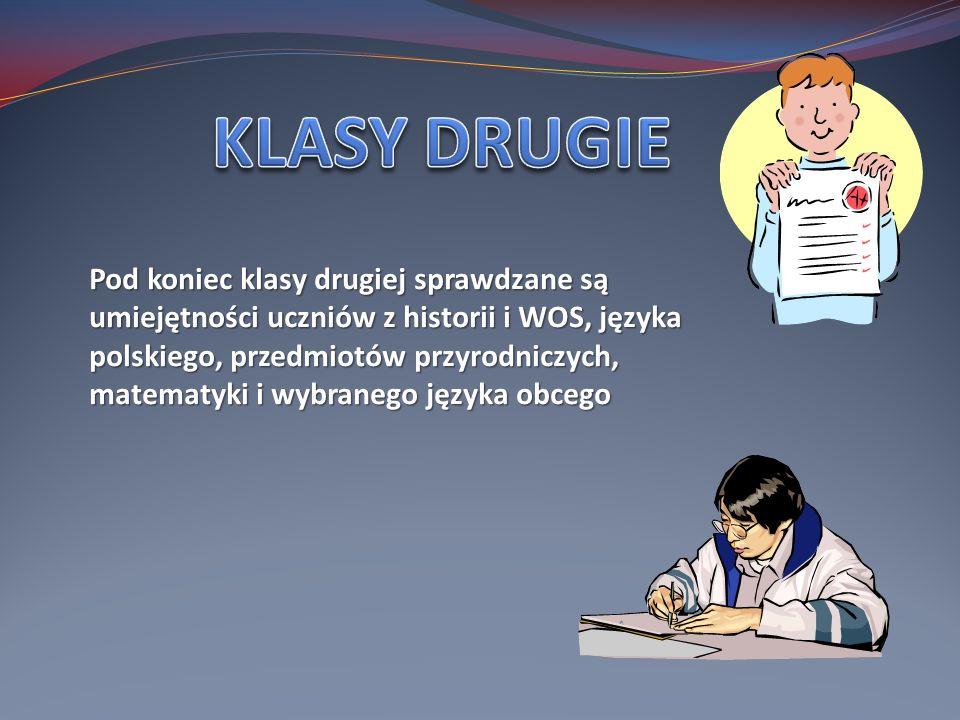 W styczniu odbywają się egzaminy próbne.