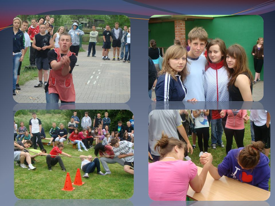 W naszej szkole odbywają się apele z okazji uroczystości państwowych.