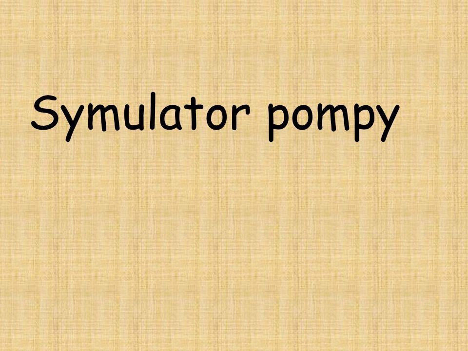 Symulator pompy