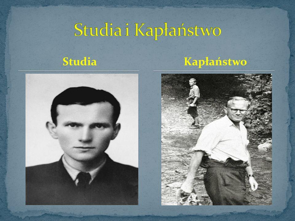 14 maja 1938 - zakończenie przez Karola Wojtyłę nauki w gimnazjum ze świadectwem maturalnym z oceną celującą, umożliwiającą studiowanie na większości uczelni bez egzaminów wstępnych.