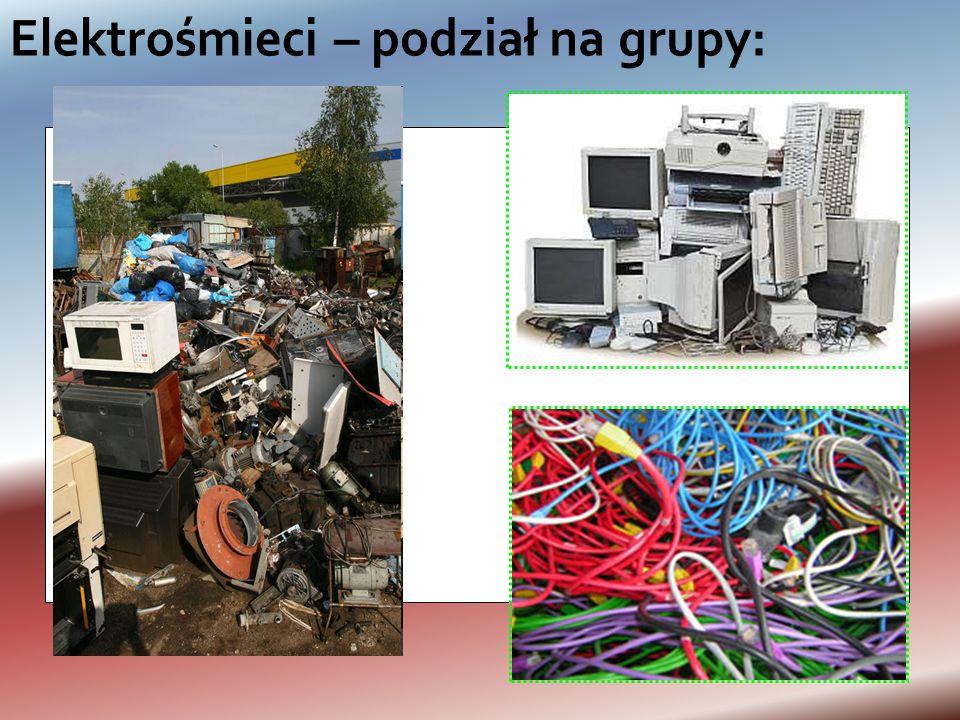 Elektrośmieci -zużyty sprzęt elektryczny i elektroniczny. Zużyty sprzęt elektryczny i elektroniczny (ang. WEEE) – sprzęt, który jest odpadem, w tym ws