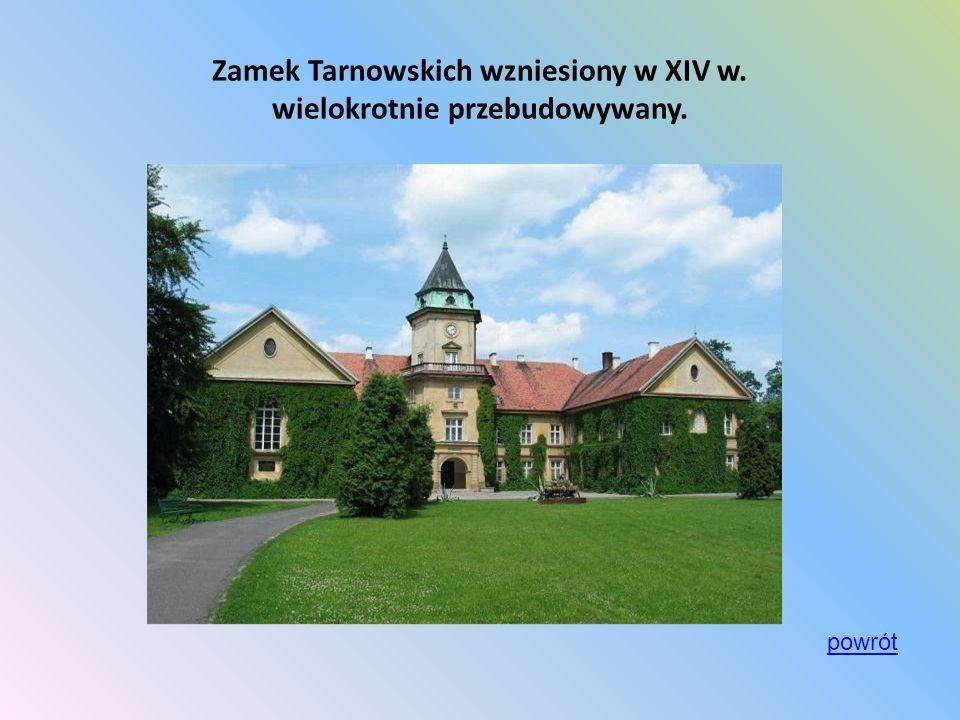 Kościół i Klasztor Ojców Dominikanów ufundowany przez rodzinę Tarnowskich w 1676 r.