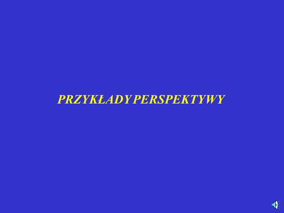 Perspektywa pionowa S°S° b h p aa k SπSπ M2M2 M1M1 Z2Z2 Z1Z1 A