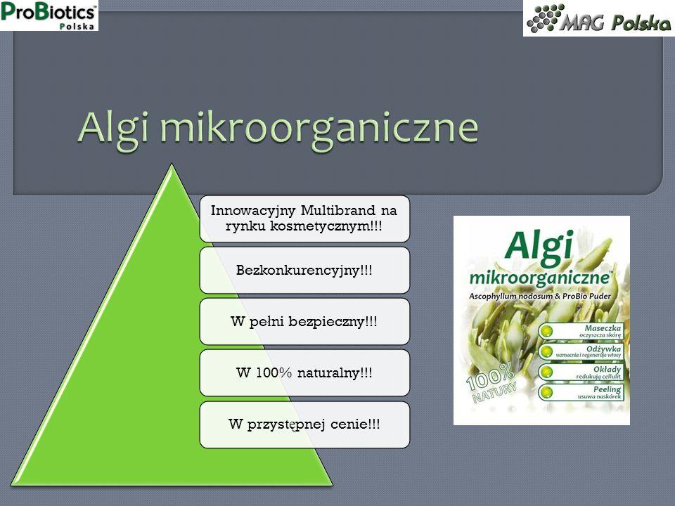 Innowacyjny Multibrand na rynku kosmetycznym!!! Bezkonkurencyjny!!!W pełni bezpieczny!!!W 100% naturalny!!!W przystępnej cenie!!!