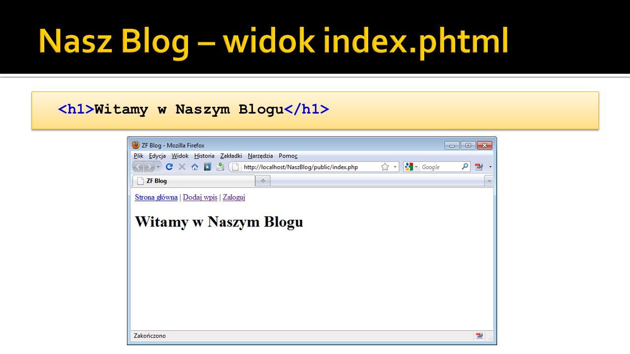 Witamy w Naszym Blogu