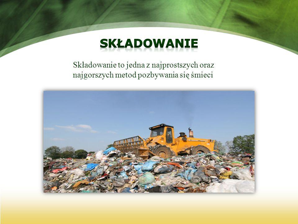 Składowanie to jedna z najprostszych oraz najgorszych metod pozbywania się śmieci