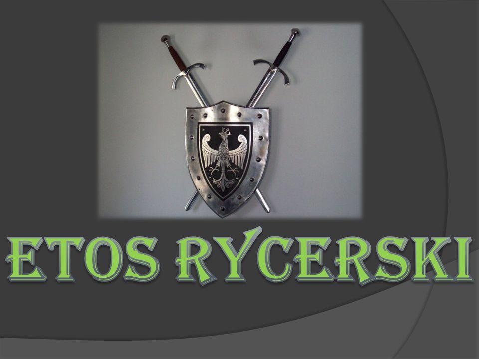 Tak jak szczególny stosunek ma rycerz do konia, tak szczególny stosunek łączy rycerza z jego zbroją, a zwłaszcza z jego mieczem.