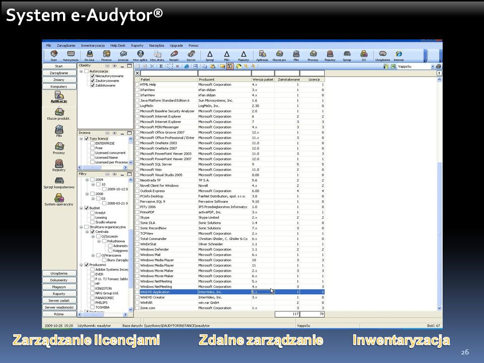 26 System e-Audytor®